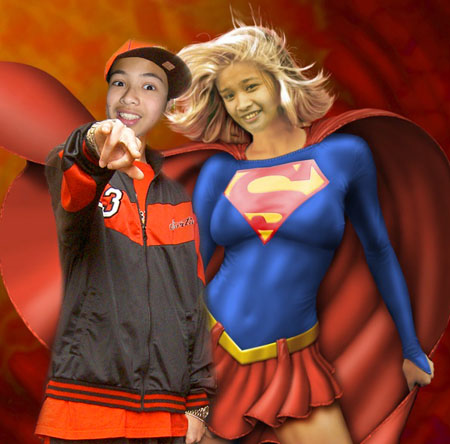 Hiphop Jeffrey Corpuz and Supergirl Madelaine Almeda