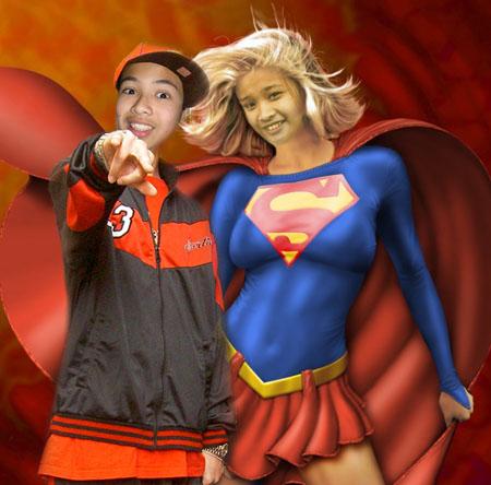 Hiphop Jeffrey Corpuz and Supergirl Madelaine Almeda